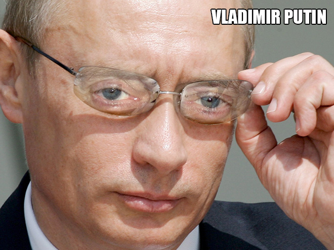 Putin looks amazing with Steve Buscemi eyes!