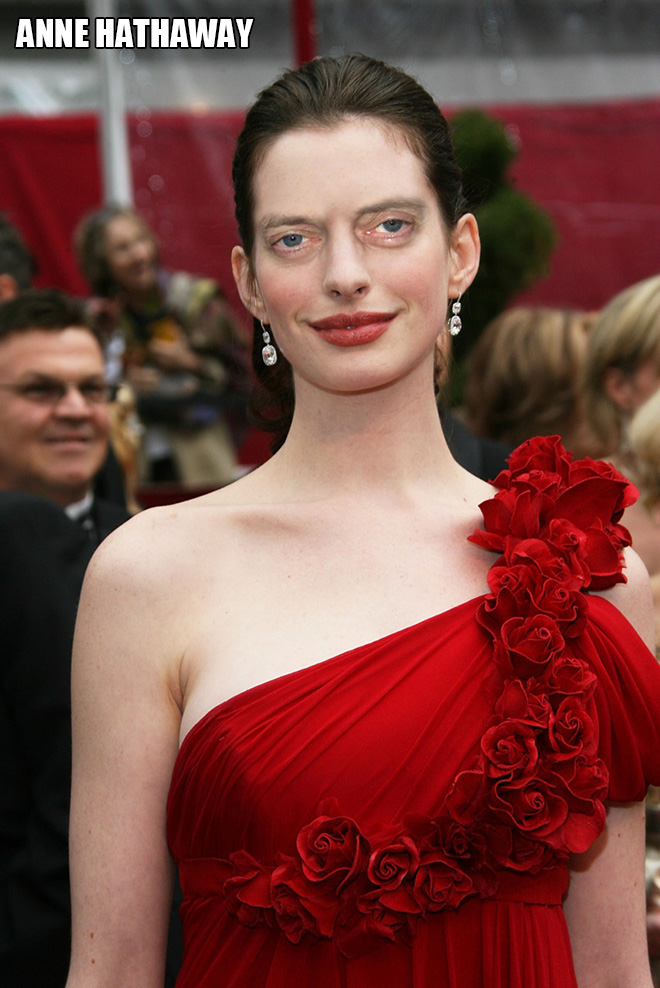 She looks amazing with Steve Buscemi eyes!