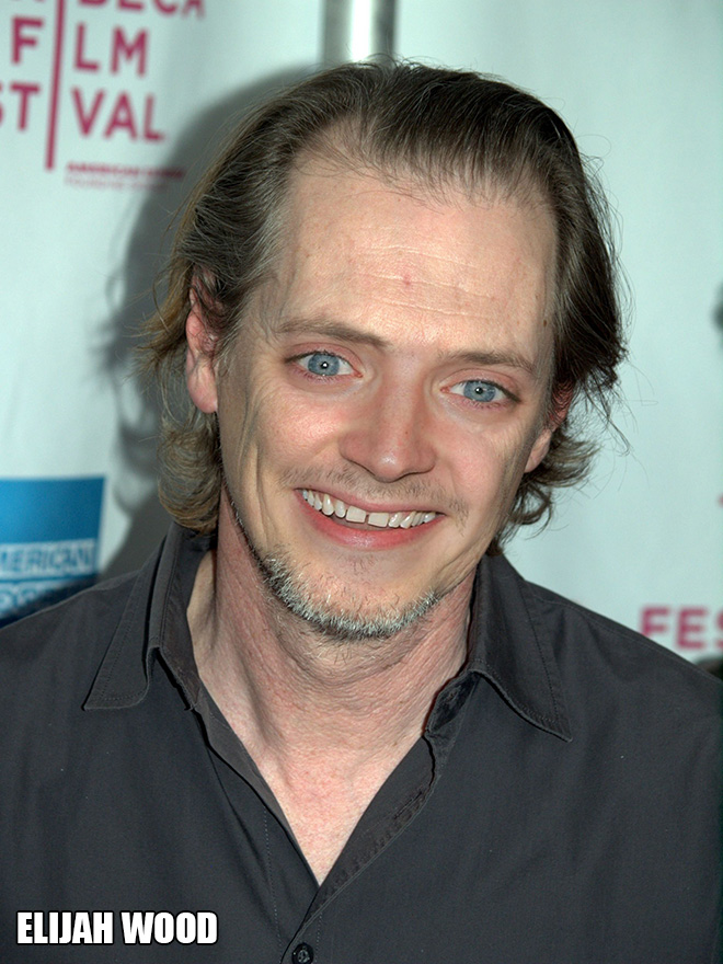 He looks amazing with Steve Buscemi eyes!