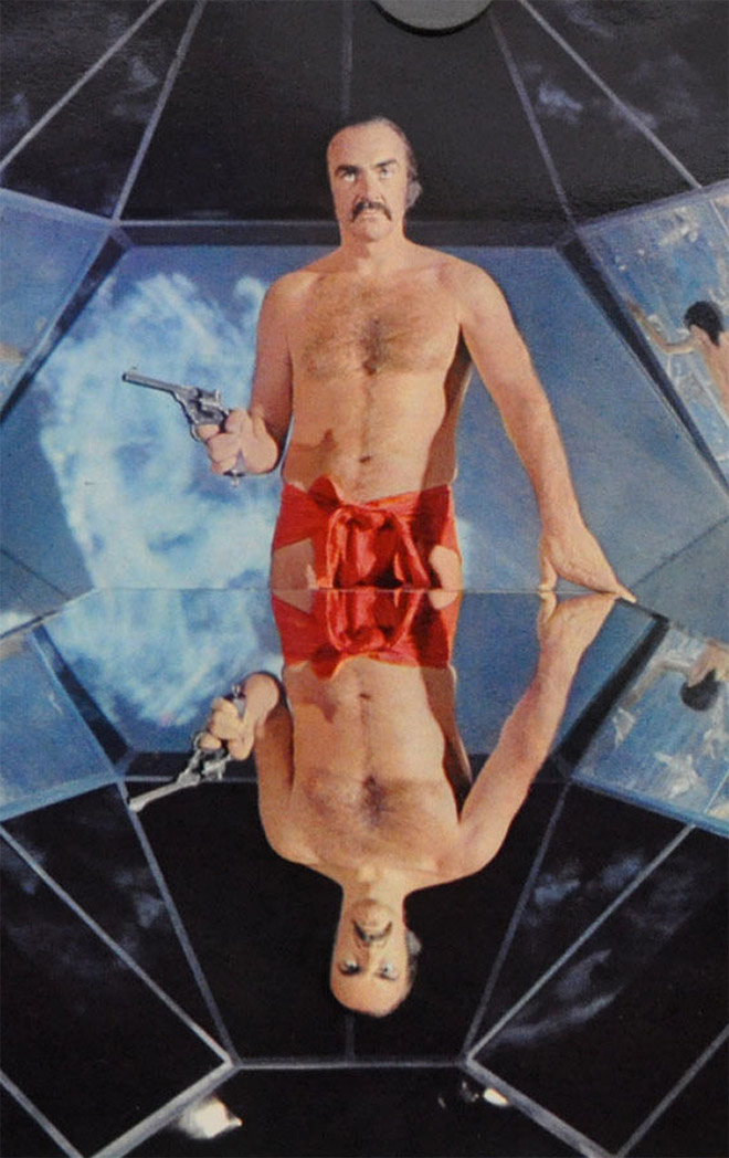"Sean Connery rocked a scarlet mankini In 1974 sci-fi movie ""Zardoz""."