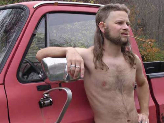 Mullet: the greatest haircut of all time.