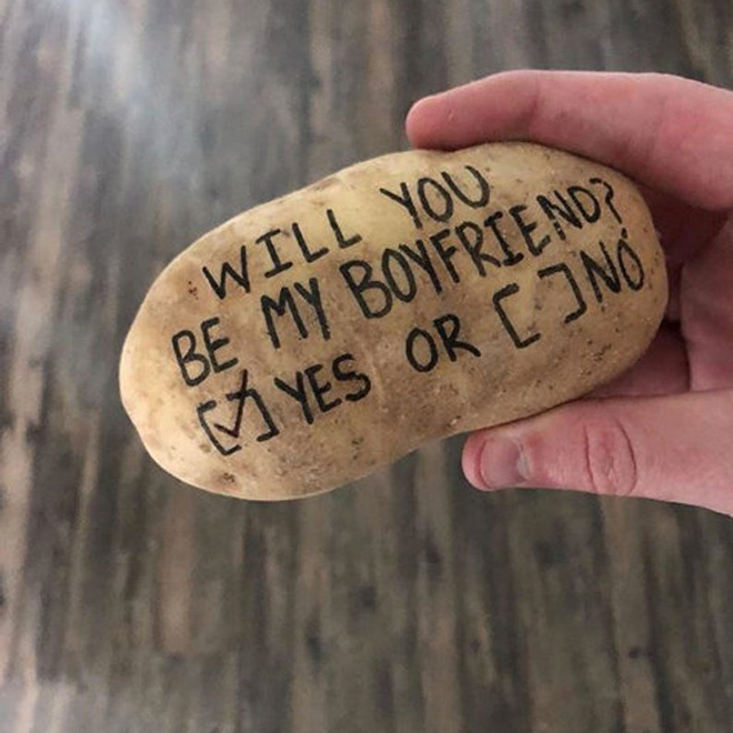 Message delivered by potato mail service.