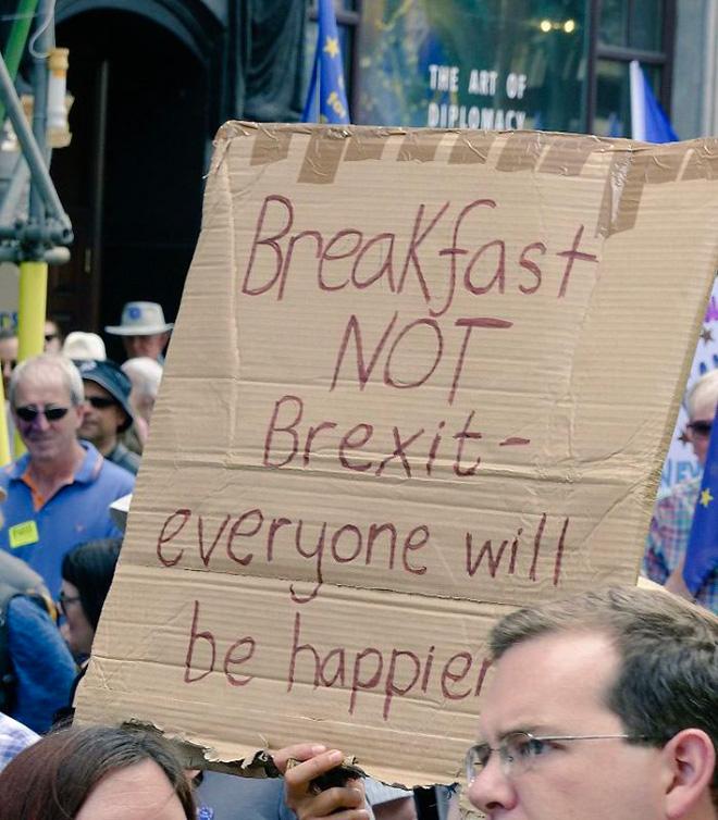 Breakfast not Brexit!