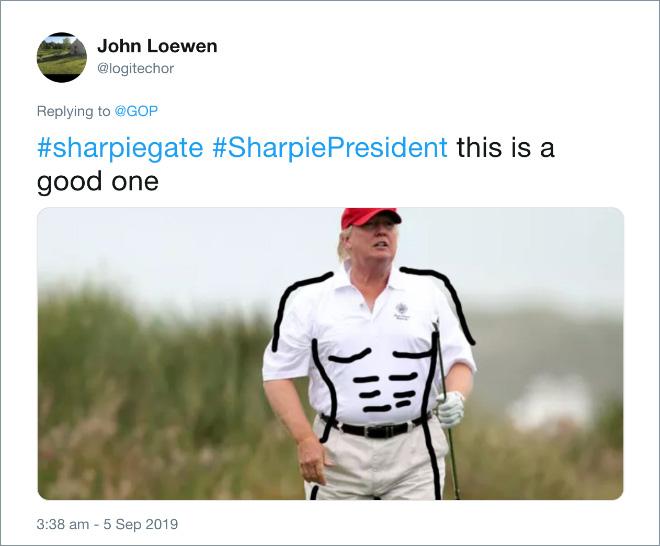 Ripped Trump.