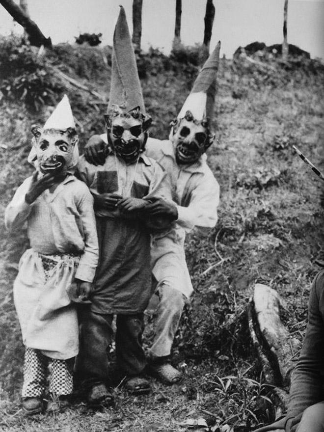 Vintage halloween costumes.