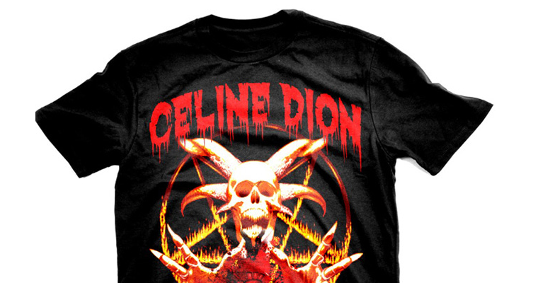 Heavy Metal T-Shirts For Pop Stars