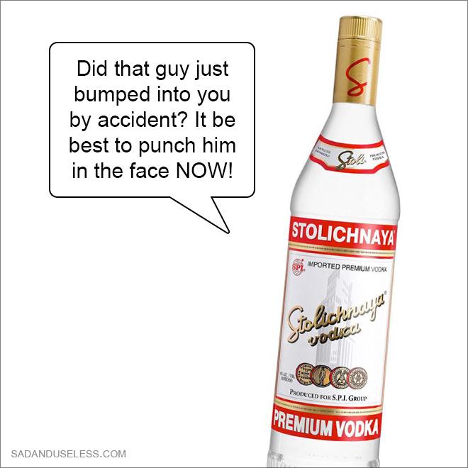 Booze advice.