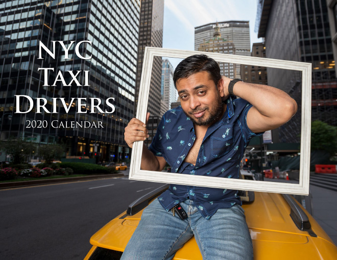 2020 NYC taxi drivers calendar.
