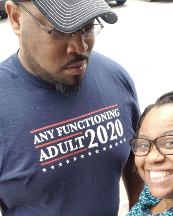 """Any Functioning Adult 2020"""