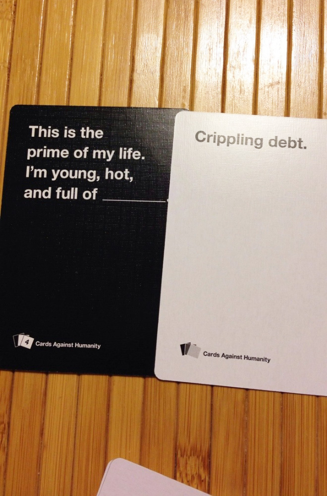 "Brilliant ""Cards Against Humanity"" answer."