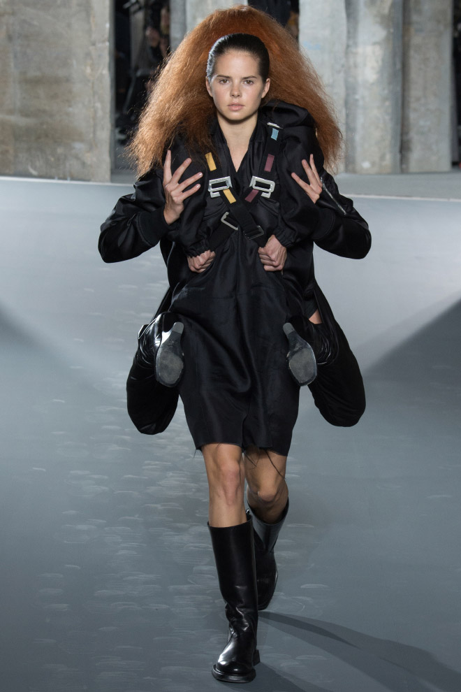 "Meanwhile in ""Paris Fashion Week""..."