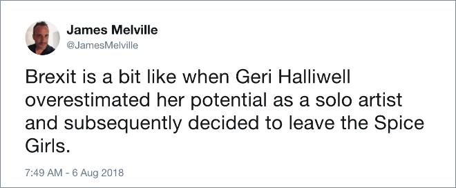Funny Brexit tweet.