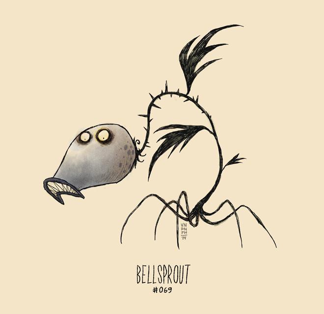 If Pokémon were drawn by Tim Burton…