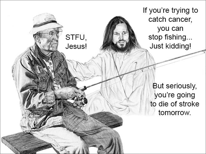 STFU, Jesus!