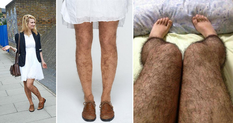 So These Hairy Stockings Actually Exist…