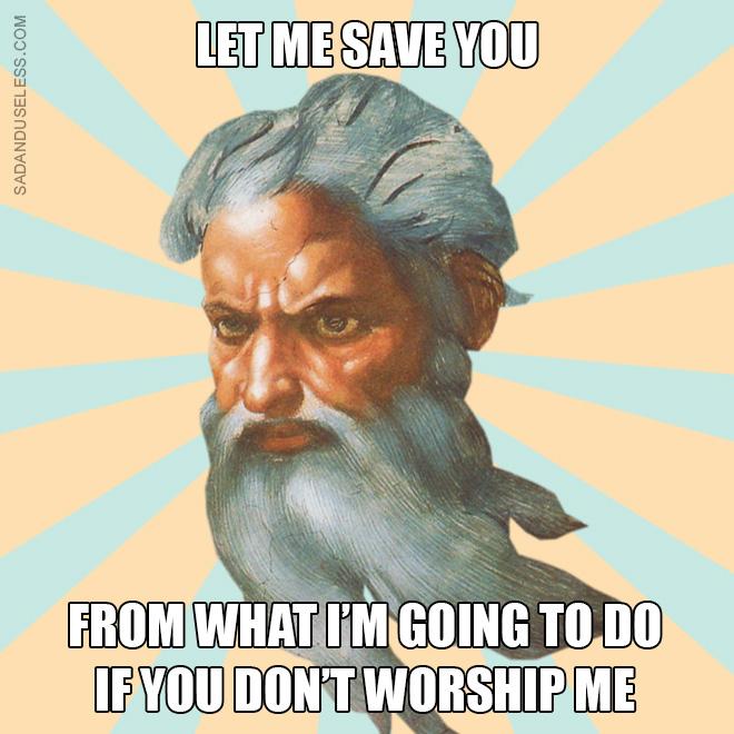 God logic.