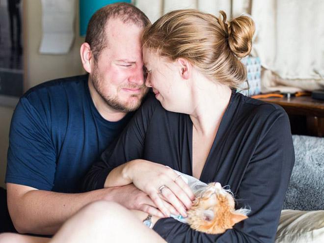 Newborn cat baby photoshoot.