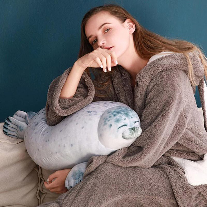 Fat seal pillow.