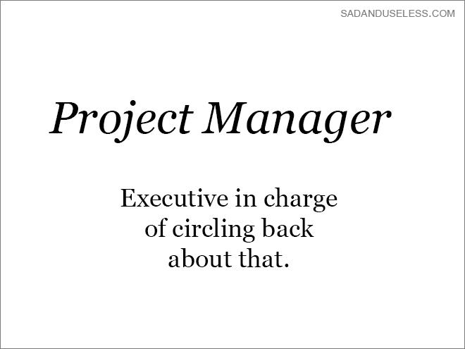 Honest job title description.