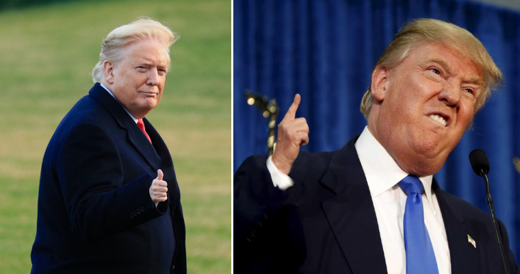 People Are Making Trump Photos With Tiny Hands To Annoy His Fans