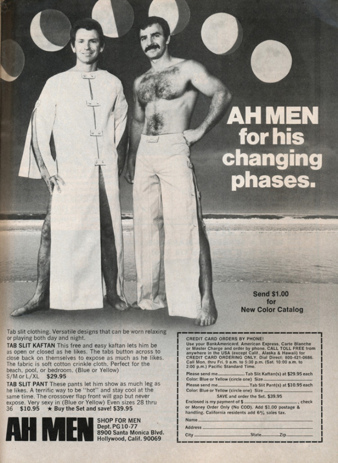 1970s male underwear ad.