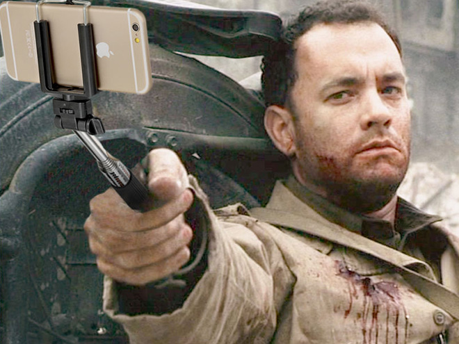 Replacing guns with selfie sticks is so much fun!