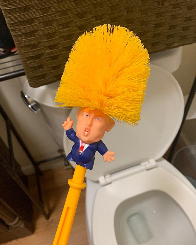 Making the toilet great again!