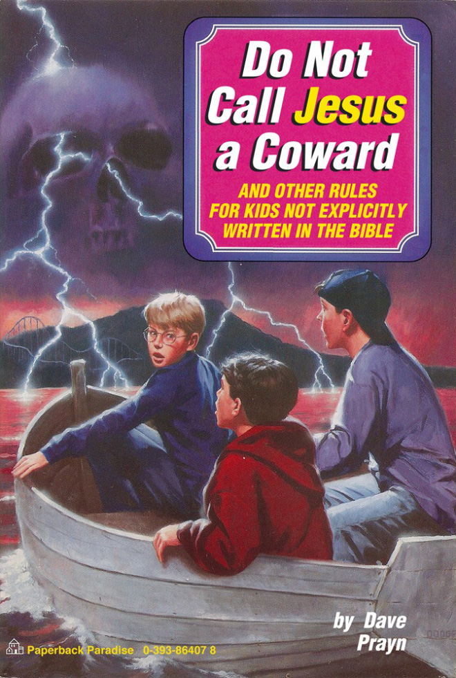 Vintage young adult book parody.