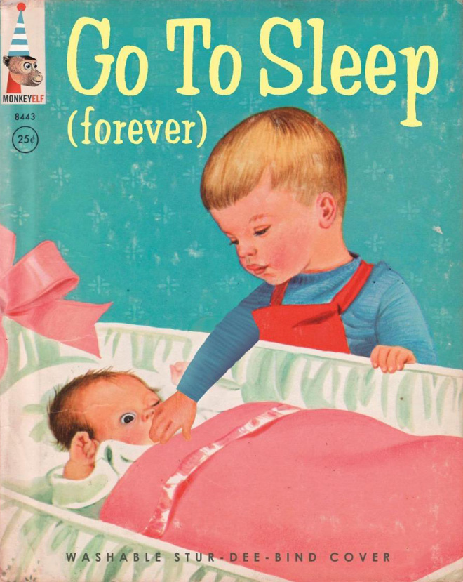 Sinister children's book parody.