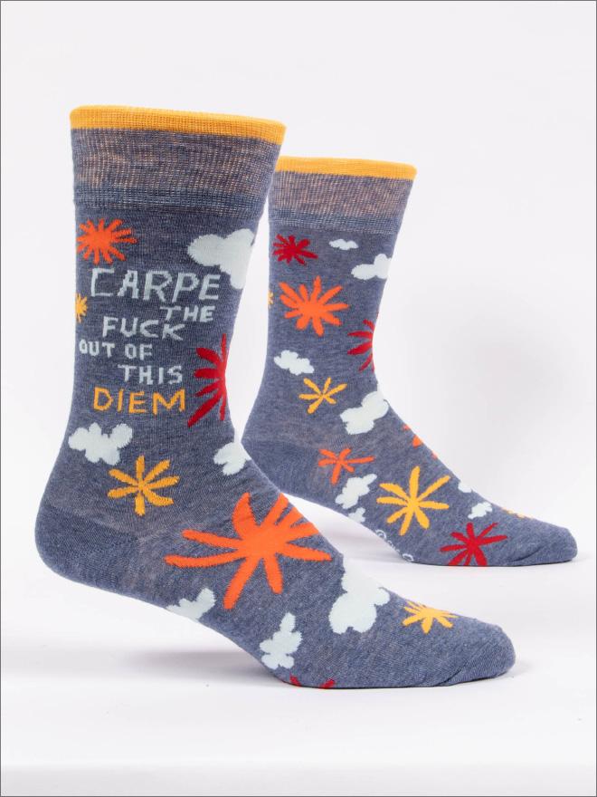 Funny socks.