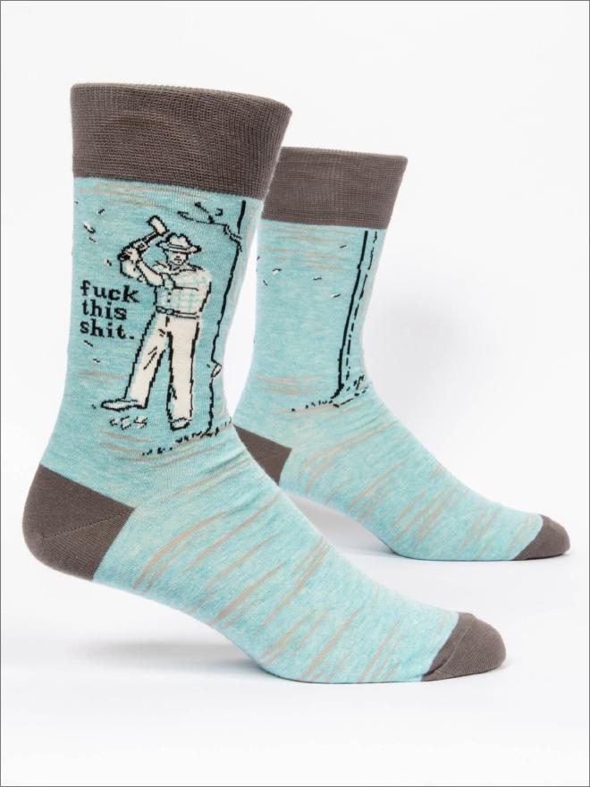 Funny rude socks.