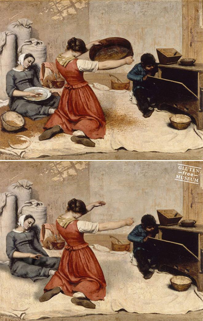 Gluten-free art.