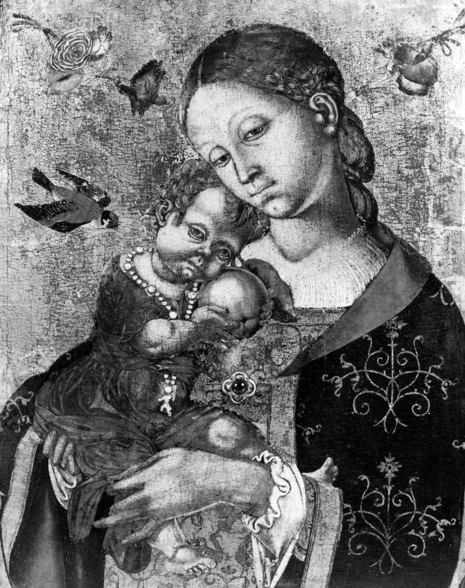 Ugly baby in Renaissance painting.