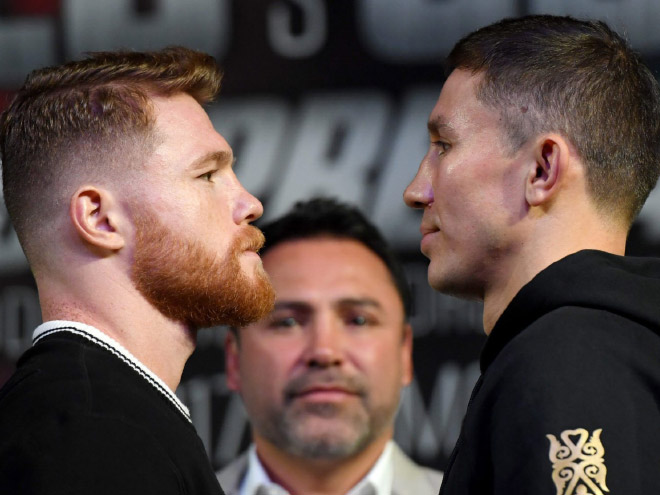 Fighter standoff that looks like a gay wedding.