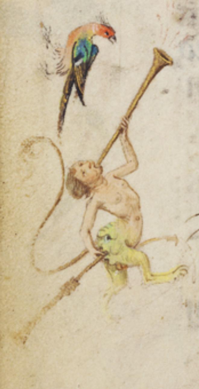 Medieval art is weird.