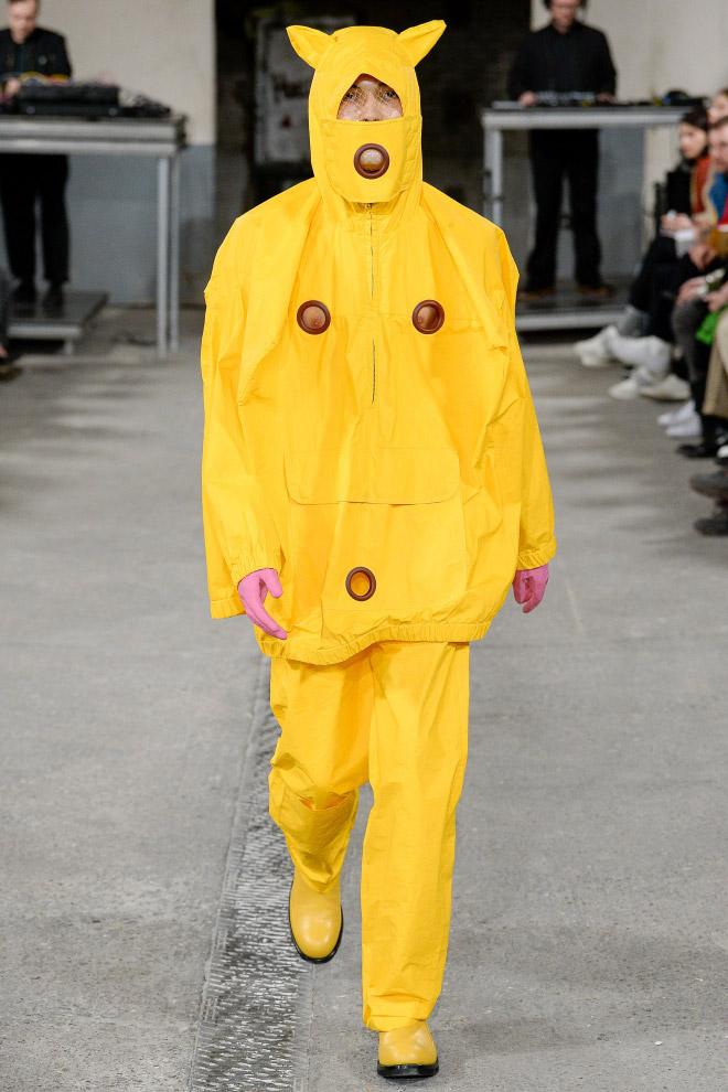 Men's fashion by Walter Van Beirendonck.