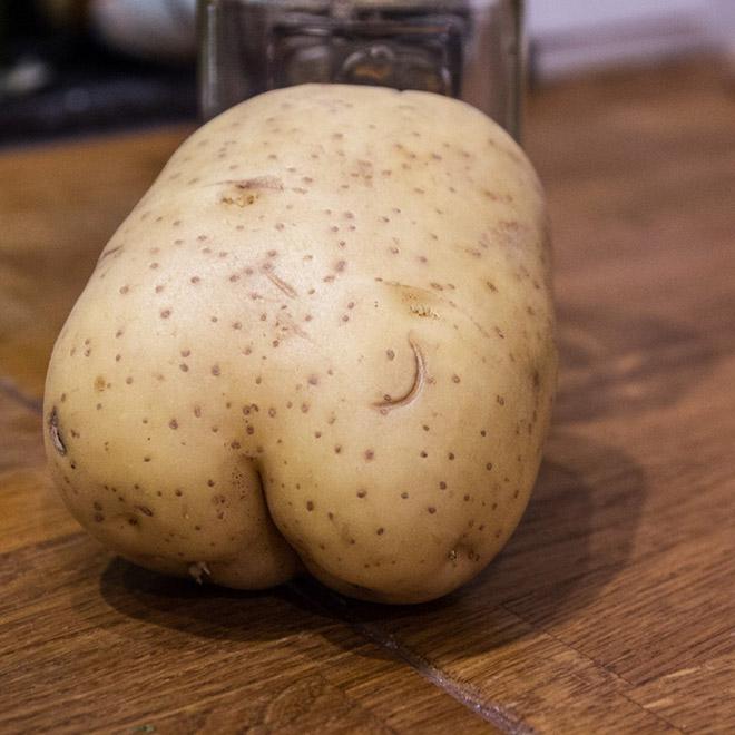 Potato butt.