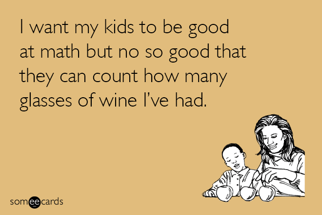 Honest parenting fact.