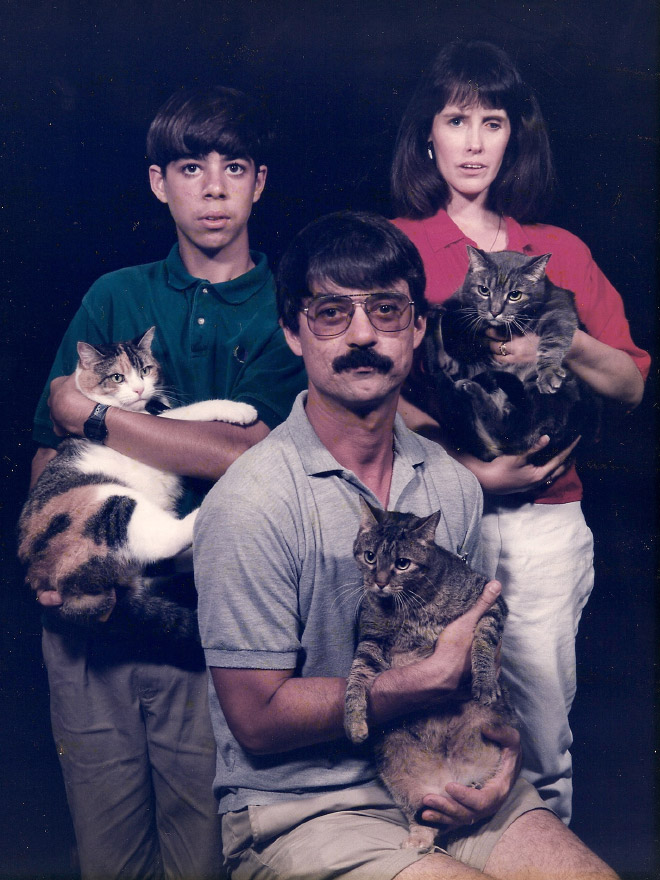 Awkward family photo.