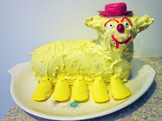 Cursed cake.