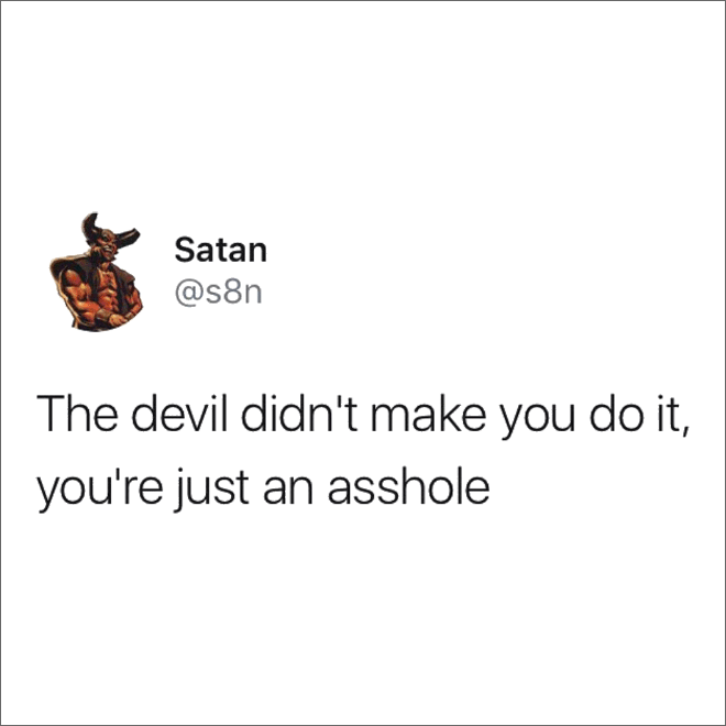 Did you know that Satan has an Instagram account?
