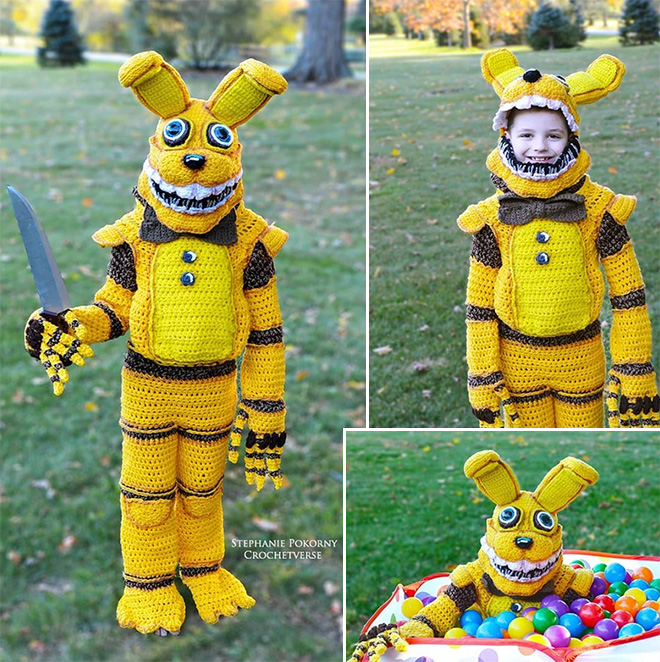 Pit Bonnie: a character from Five Nights at Freddy's.