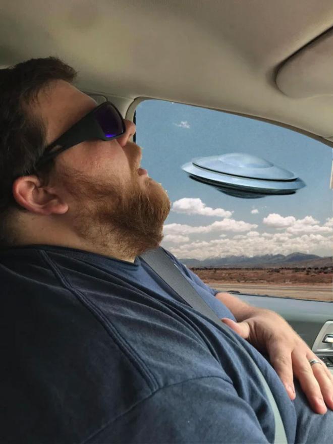 When sleeping husband meets Photoshop.