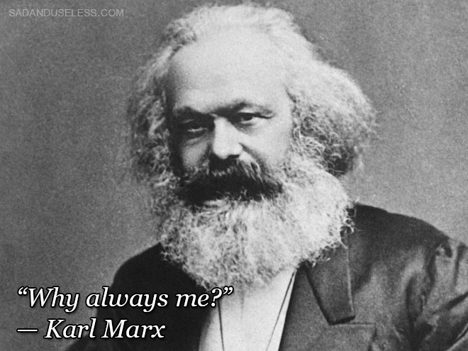 Little known quote.