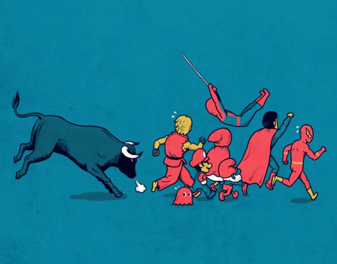 Cartoon by artist Ben Chen.