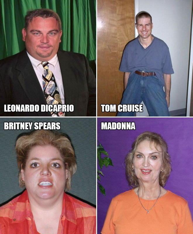 If celebrities went into witness protection program.