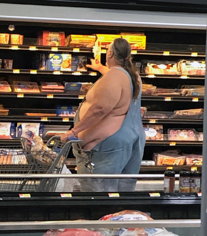 Things you see only in Walmart...
