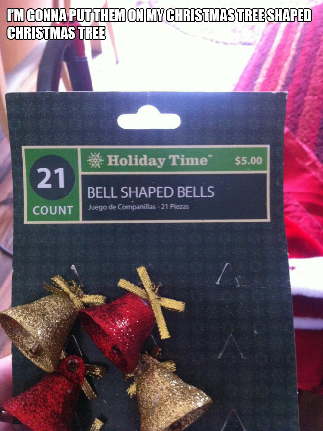 Christmas design fail.