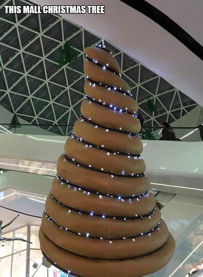 Christmas design fail.