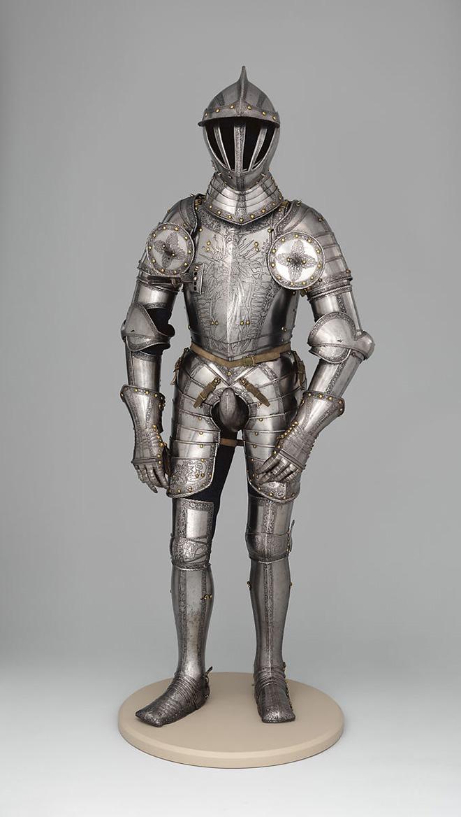 Armor codpiece.